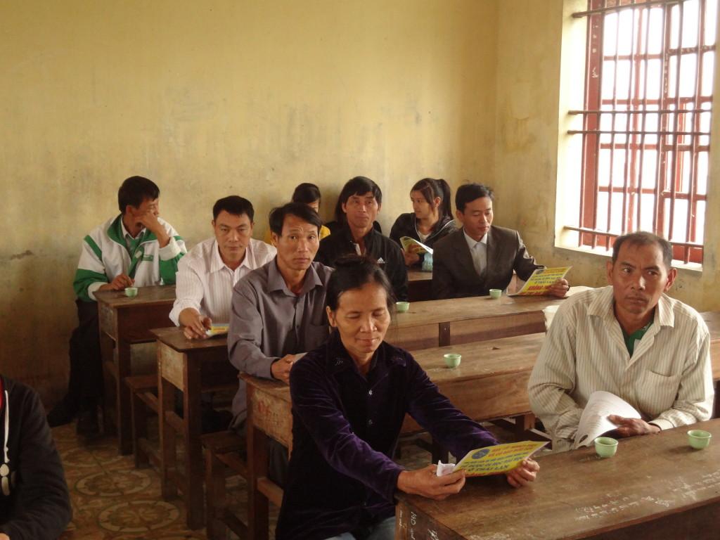 Tư vấn ở trường PTTH Lý Tự Trọng - Quỳnh Lưu