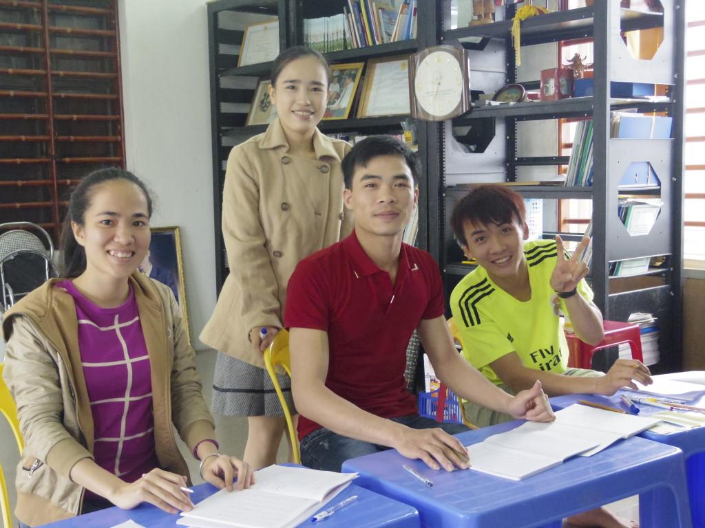 Khai giảng lớp tiếng Nhật 08/04/2015 Viện Công Nghệ Mớii