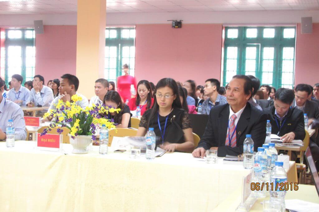 Viện Công nghệ mới tham gia hội thảo khoa học các trường Đại học, Cao đẳng vùng Trung Bắc